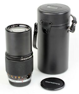 Olympus OM 200mm 1:4 Zuiko MC AUTO-T + CASE ! Wie NEU MINT condition A/A- !!!
