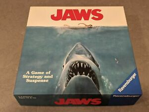 JAWS Shark Horror Movie Themed Board Game Ravensburger 2019 Prospero Hall
