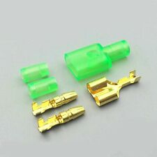 20set 1female+2male Brass terminal bullet connector 22-16awg Pluggable lash plug