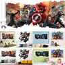 3D Super Hero Vinyl Wall Sticker Art Decal Removable Home DIY Decoration