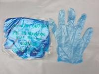 200 PE Handschuhe Einmalhandschuhe Folienhandschuhe Dieselhandschuhe Einweg blau