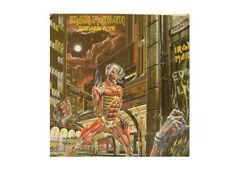 Iron Maiden Poster Somewhere In Time Flat