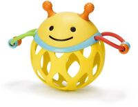 Skip Hop EXPLORE AND MORE ROLL AROUND RATTLE - BEE Baby Toys Activities BN