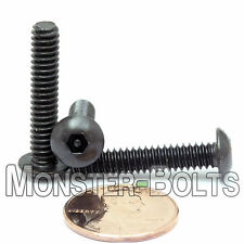 "#10-24 x 1"" - QTY 10 - SECURITY SCREWS Button Head Pin In Socket / Hex Bolts"