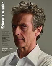 Telegraph Magazine,Peter Capaldi DR DOCTOR WHO NEW