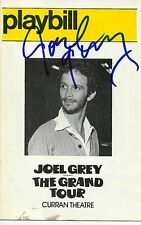 Joel Grey signed The Grand Tour Playbill