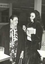 ISABEL SARLI & Her MOTHER Original Vintage Photograph 1960's CANDID