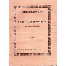 Société ARCHÉOLOGIQUE de Montpellier Comput Druides Abbaye d'Aniane 1847 T2 N°15