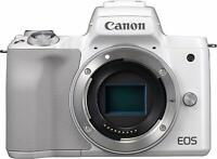 Mirrorless interchangeable-lens camera EOS Kiss M White Canon From Japan