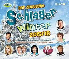 Der deutsche Schlagerwinter 2015/2016  3 CD  NEU/OVP