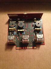 High CHAN CKTS Ser 5 Y4 Circuit Board Card Vintage
