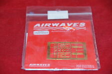 AIRWAVES PHOTO ETCHED RUSSIAN K-36 E/J SEAT HARNESS AC 4821 1:48 NEW