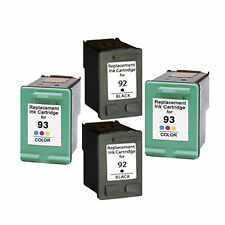 2XHP92+ 2XHP93 Reman Ink Cart 400% More Ink Deskjet 5420, 5420v,5438 5440, 5440v