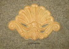 """WOOD EMBOSSED APPLIQUE CARVING  6 1/2 """"  X  5""""   HQ1121"""