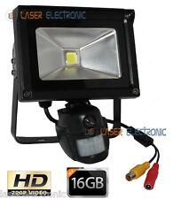 Telecamera HD Nascosta in Faretto a LED Motion Detection + Micro SD Card 16GB