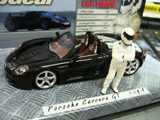 PORSCHE Carrera GT Top Gear schwarz black Record Minichamps RAR 1:43