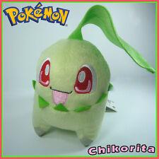 "Chikorita Pokemon Plush Toy Stuffed Animal Doll Figure 5"""