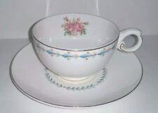 Vintage Porcelain Hall China Mount Vernon Harmony House Cup & Saucer