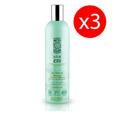 Pack 3 SHAMPOO scalp scalp sensitive anti-dandruff 400 ml Natura Siberica KROUS