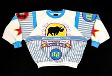 80s / 90s Abercrombie & Fitch Sailing Rhino Sweatshirt Wind Jamming Vintage