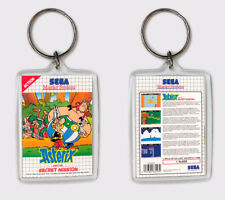 ASTERIX AND THE SECRET MISSION SEGA MASTER SYSTEM LLAVERO KEYRING