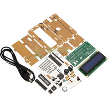 5V LCD1602 Backlight Multifunction Electronic Clock DIY Kits With Acrylic Case