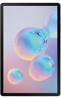 Samsung Galaxy Tab S6 128GB, Wi-Fi, 10.5 in - Gray Sprint  A stock
