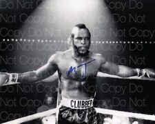Mr. T signed 8X10 inch photo picture poster autograph RP