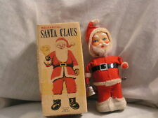 JAPANESE MADE MECHANICAL SANTA CLAUS BY ALPS WITH THE BOX