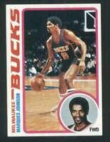 1978-79 Topps #126 Marques Johnson NM/NM+ RC Rookie Bucks 120236