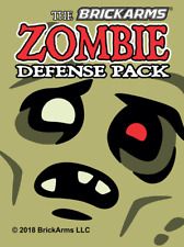 BrickArms Zombie Defense 2018 Pack Weapons for Brick Minifigures