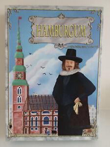 Hamburgum. Strategy board game set in 17th century Hamburg. Complete.