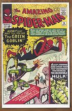Amazing Spider Man  #14 poster art print '92  Steve Ditko  Green Goblin
