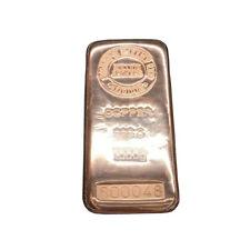 Sharps Pixley Copper Bullion Bar 1000g 1KG 999,0 Pure Investment Gift