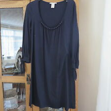 Nanette Lepore Plain Black Shift dress size M Immaculate