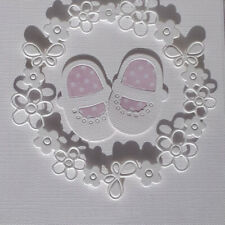 Baby Shoes Metal Steel Cutting Dies Scrapbook Decor Paper Card Embossing Craft