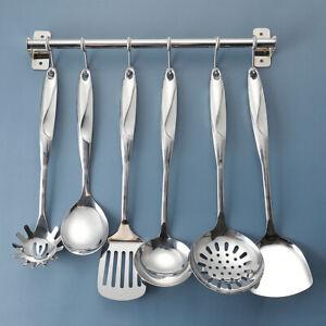 Stainless Steel 7 Pieces Kitchen Cooking Kitchenware Utensils Set Heat Resistant