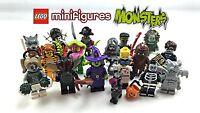 LEGO - Minifigures Serie Mostri / Monster - Completa la Collezione - NUOVO