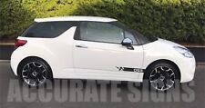 CITROEN DS3 DECALS  GRAPHICS SET STICKERS STRIPES CAR DECALS ANY COLOUR