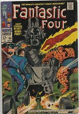 Fantastic Four #80 Marvel 1968 Silver Age Comic Book FN/FN+ (Vs. Living Totem)