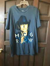 Tim McGraw and Faith Hill soul to 2 soul Concert tour 2006 T-shirt Adult Xl