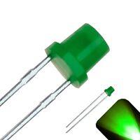 20 LED 3mm Pure Green Extra Fast Flashing Blinking Strobe Ultra Bright LEDs 6Hz