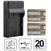 BP-511/511A Battery Charger for Canon EOS 10D 20D 30D 40D 50D 300D D60 5D Rebel