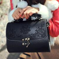 Fashion Women PU Leather Handbag Shoulder Bag Tote Messenger Satchel Purse New