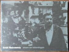 Ernst Neizvestny - Etsen en tekeningen - John Berger - Stedelijk museum - 1976