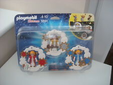 PLAYMOBIL 5591 CHRISTMAS TREE DECORATIONS  ANGELS X 3 BRAND NEW