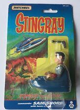 Matchbox Stingray 1992 Commander Sam Shore Action figure.Mint condition.