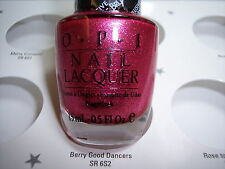 Opi Berry Good Dancers Nail Polish #Sr 6S2