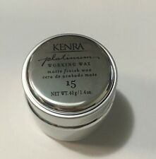 Kenra Platinum Working Wax #15, 1.4 oz