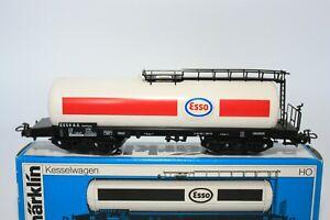 """Märklin H0 4650 Kesselwagen """"ESSO"""" der DB - OVP"""